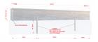 SaarmunderKante aus Edelstahl Stärke 0,8(3,5)mmm