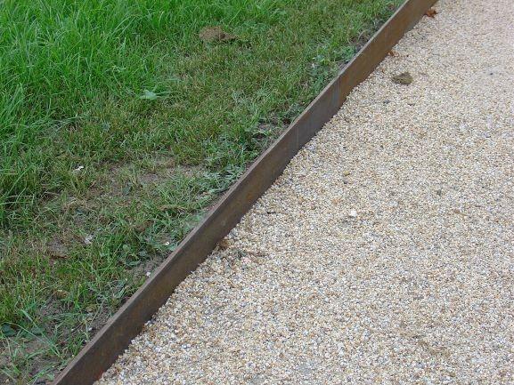 Winkel-Liner.Cort-wetterfeste Patina
